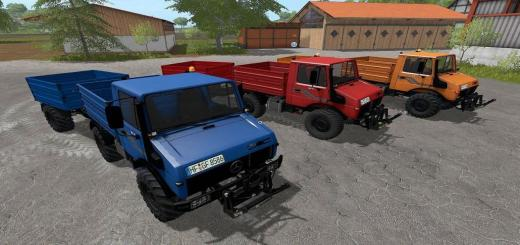 Photo of FS17 – Mb Unimog 1600 + Römork V1