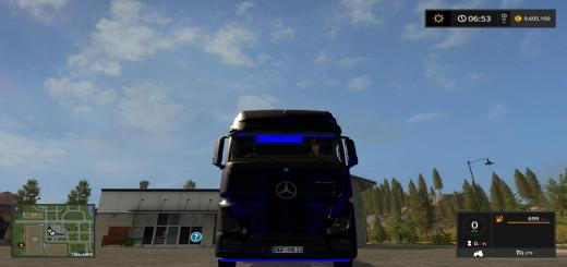 Photo of FS17 – Mercedes-Benz Actros Neon V1.0