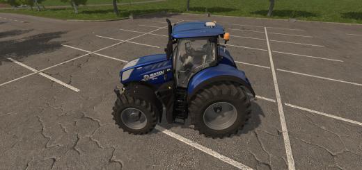 Photo of FS17 – New Holland T7 Hd Mavi Güçlü Traktör Yaması V1.0