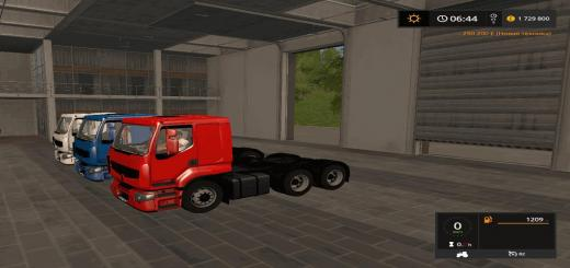 Photo of FS17 – Renault Premium Paketi V1.0