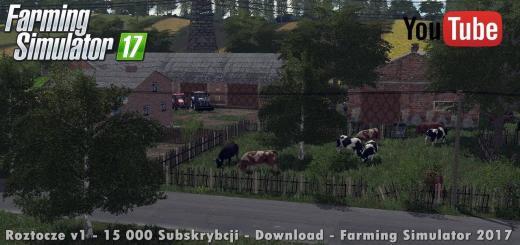 Photo of FS17 – Roztocze Çiftlik Haritası V1.0