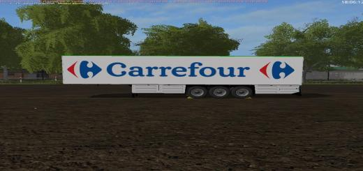 Photo of FS17 – Schmitz Carrefour Dorse Modu V1.0