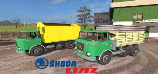 Photo of FS17 – Skoda Liaz 706 & Swap Bodies V1.1.0.3