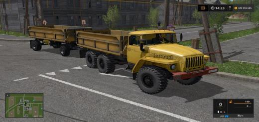 Photo of FS17 – Ural 5557 + Römork V2.0