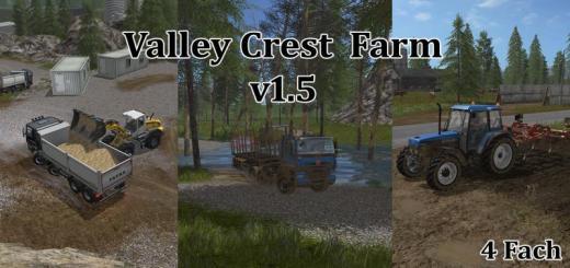 Photo of FS17 – Valley Crest Farm 4X Harita Yaması V1.5