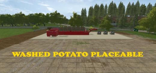 Photo of FS17 – Yerleştirilebilir Patates Yıkama Makinası V1.0