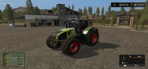 Photo of FS17 – Claas Axion 900 Traktör V1.0