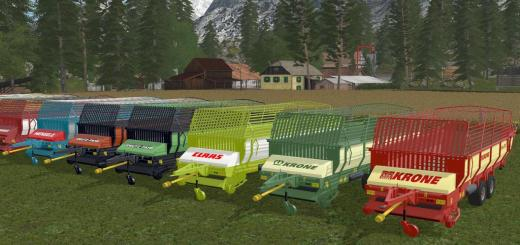 Photo of FS17 – Eski Yem Vagonları Tandem V1.1