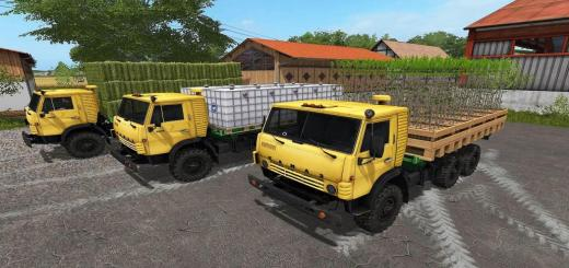 Photo of FS17 – Kamaz 4310 + Flat Autoload Römork V2.0