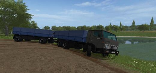 Photo of FS17 – Kamaz 53212 + Czap 8357 V2.1
