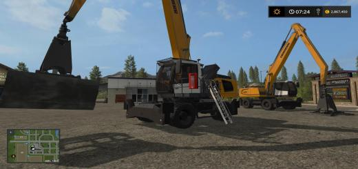 Photo of FS17 – Liebherr Greifer Raeder V1.0
