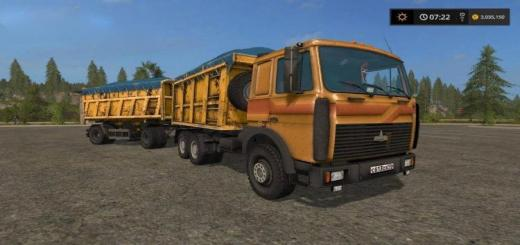 Photo of FS17 – Maz 5516 Damperli V2.2