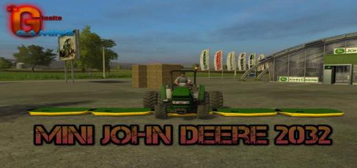 Photo of FS17 – Mini John Deere 2032R V1.0