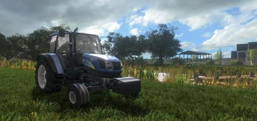 Photo of FS17 – New Holland T5000 V1.1.0