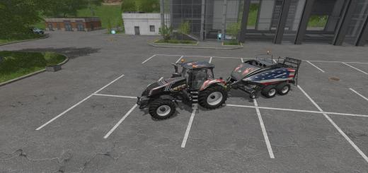 Photo of FS17 – Patriot New Holland T8 Bb1290 Balya Paketi V1.0