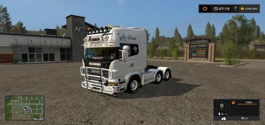 Photo of FS17 – Scania V8 V1.0