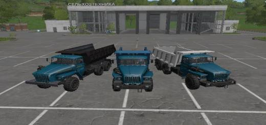 Photo of FS17 – Ural 4320 Paketi V1.0