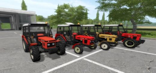 Photo of FS17 – Zetor Pack 62Xx-72Xx V1.0