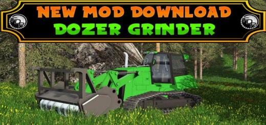 Photo of FS17 – Dozer Grinder – Fdr Logging V1.0