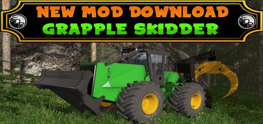 Photo of FS17 – Fdr Logging – Grapple Skidder V1.0