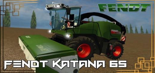 Photo of FS15 – Fendt Katana 65 V1.0