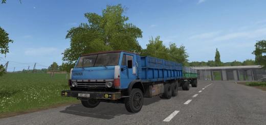 Photo of FS17 – Kamaz 52212 + Gkb 8351 Römork V1.0