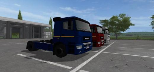 Photo of FS17 – Kamaz 5490 V2.0