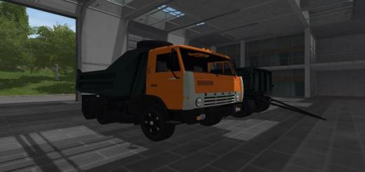 Photo of FS17 – Kamaz 55111 V1.2