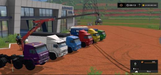Photo of FS17 – Kamaz Vezdehod Paketi V1.1