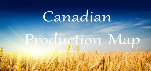 Photo of FS17 – Kanada Üretim Haritası 4 Beta