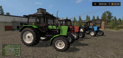 Photo of FS17 – Mtz 82.1 Belarus Paketi V2.4