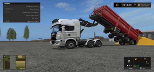 Photo of FS17 – Scania R730 V8 Lifter V1.0