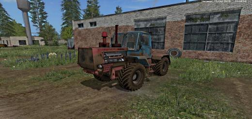Photo of FS17 – T-150K (Kırmızı-Mavi) Traktör V1.0.0.1