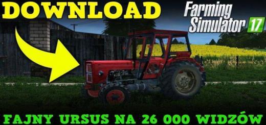 Photo of FS17 – Ursus C-360 Traktör