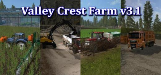 Photo of FS17 – Valley Crest Çiftlik Haritası V3.1
