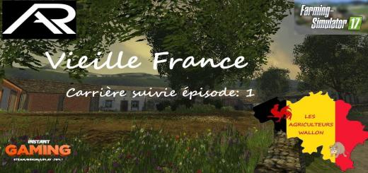 Photo of FS17 – Vieille Fransa Çiftlik Haritası V3.0