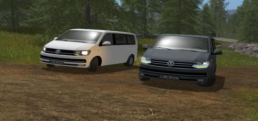 Photo of FS17 – Volkswagen T6 Multivan V0.5