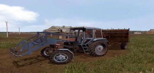 Photo of FS17 – Mtz 100 Gerçekçi Traktör V1.0