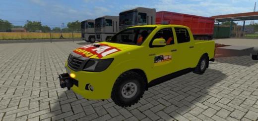 Photo of FS17 – Toyota Hilux Skup Zlomu V1.0