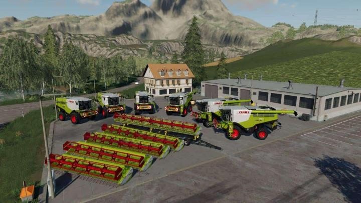 Photo of FS19 – Claas Lexion Paketi V1