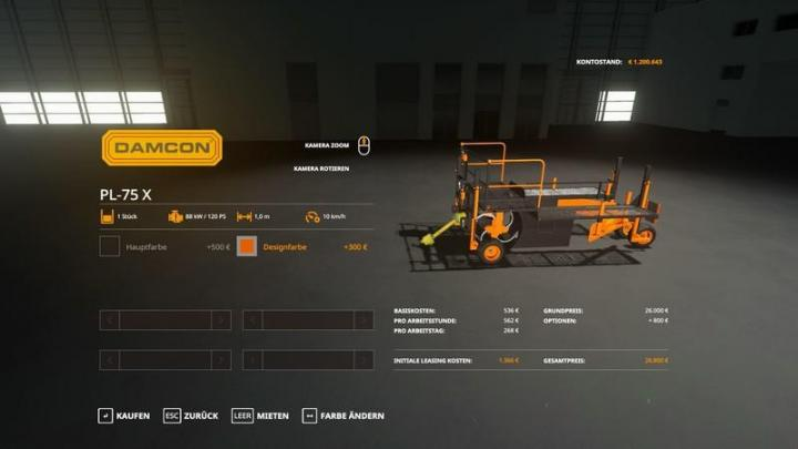 Photo of FS19 – Damcon Pl-75X V1.2