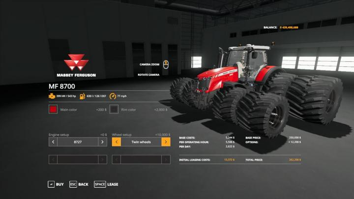 Photo of FS19 – Massey Ferguson 8700 Ve Traktör V1