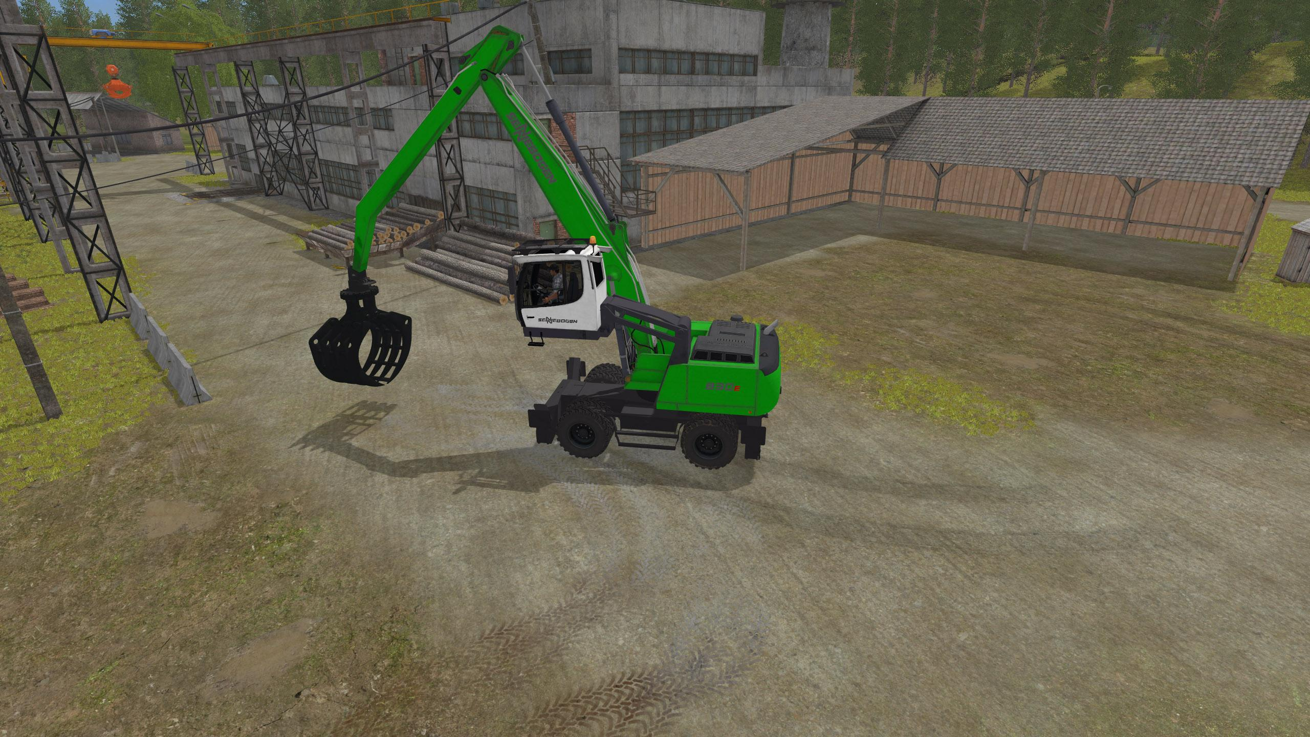 Photo of FS17 – Sennebogen 830E Ekskavatör V1