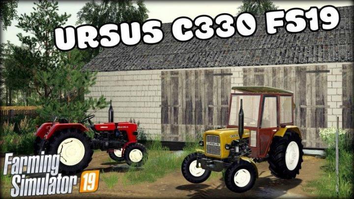 Photo of FS19 – Ursus C-330 Traktör V1