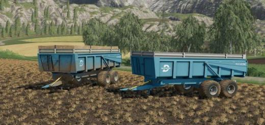 Photo of FS19 – Duchesne 14T Römork V1