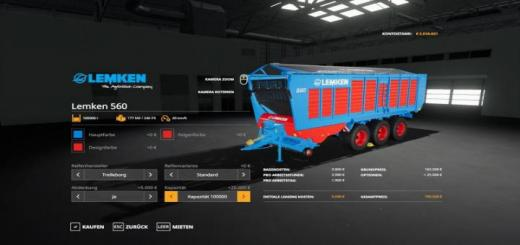 Photo of FS19 – [Fbm Team] Lemken 560 V1