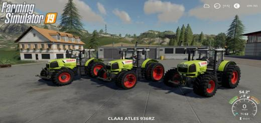 Photo of FS19 – Claas Atles 936/946 Rz V1