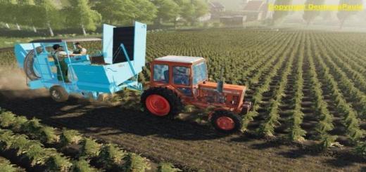 Photo of FS19 – Fortschritt K689 Patates Hasat Makinası V1