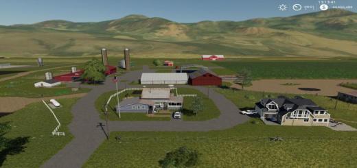 Photo of FS19 – Jones Süt Çiftliği Haritası V1