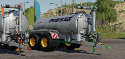 Photo of FS19 – Joskin Stapel Modulo2 Prallteller V1